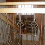 Geländer Edelstahl Holz